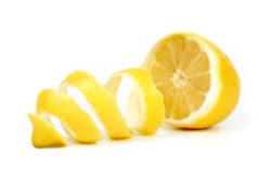 A twist of lemon